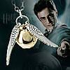 Кулон подвеска Золотой снич Гарри Поттера