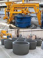 Оборудование для производства изделий из бетона