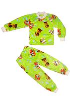 """Детская пижама велсофт """"Веселые друзья"""""""