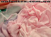 Сетка стрейч розовая