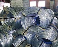 Проволока стальная оцинкованная диаметр 0,8мм ГОСТ 3282-74