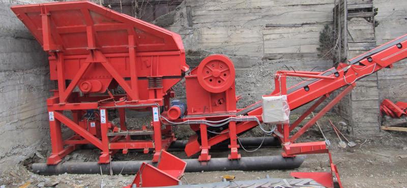 Оборудование переработки бетона
