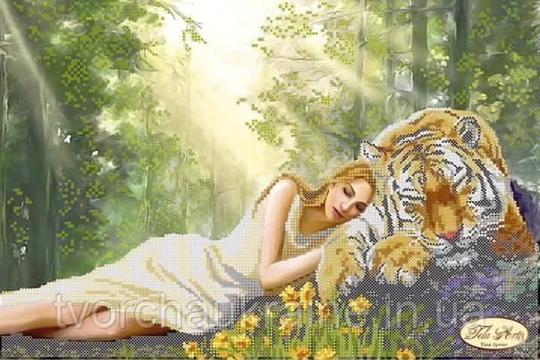 Схема для вышивки бисером Полуденный сон