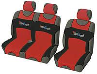 Чехлы- Майки сидения универсальные bus 2+1 MILEX Type Truck красные