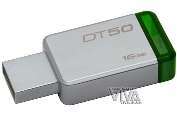USB флешка Kingston DataTraveler DT50 16 Gb USB 3.1