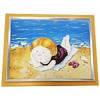 Картина без стекла: на пляже
