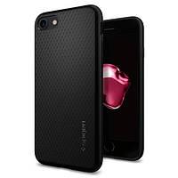 Чехол Spigen для iPhone SE 2020/8/7 Liquid Air Armor, Black (042CS20511), фото 1