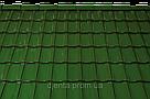Керамическая черепица TONDACH Мулде болотно-зеленая глазурь F307y, фото 2