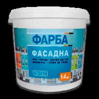 Фасадная краска (водоэмульсионная) ЭКО 14,0 кг / белая