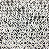 Тканина з дрібним геометричним малюнком, фото 1