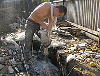Демонтаж зданий Киев.Разрушение бетона,снос строений 0664327255