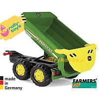 Самосвальный прицеп халфпайп John Deere Rolly Toys 122165