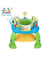 """Игровой развивающий центр Huile Toys """"Музыкальный стульчик"""" (синий) (696)"""