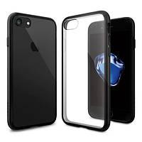 Чехол Spigen для iPhone 7 Ultra Hybrid, Black, фото 1