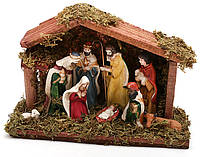 Рождественский Вертеп 9 фигур, 18см BonaDi 197-M12
