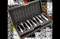 Головки сменные с шестигранными насадками 100 мм, набор 9 шт., NEO 08-706