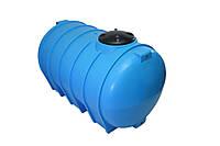Прочная горизонтальная цистерна 2000 литров