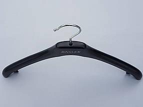 Плечики  комиссионные б/у Coronet NF-38 (Basler) черного цвета, длина 38 см, фото 2
