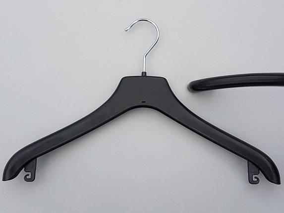 Плечики  вешалки  тремпеля Coronet NF-38  черного цвета, длина 38 см, фото 2
