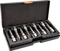 Головки сменные с насадкой Torx 100мм, набор 9 шт., NEO 08-708