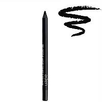 Суперстойкий Чёрный карандаш для глаз стойкость 24 часа Aden Eyeliner Pencil Pro Longwear