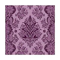 """Салфетка для декупажа """"Фиолетовые обои"""", размер 33*33 см, трехслойная"""