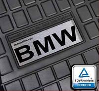 Резиновые коврики с лого BMW E60 E53 E70 E39 и др.