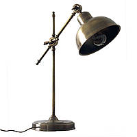 Настольный светильник loft Steampunk [ Table Lamp Vintage style ]  Antique, фото 1