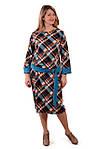 Сукня жіноча тепле трикотажне пл 066, фото 2