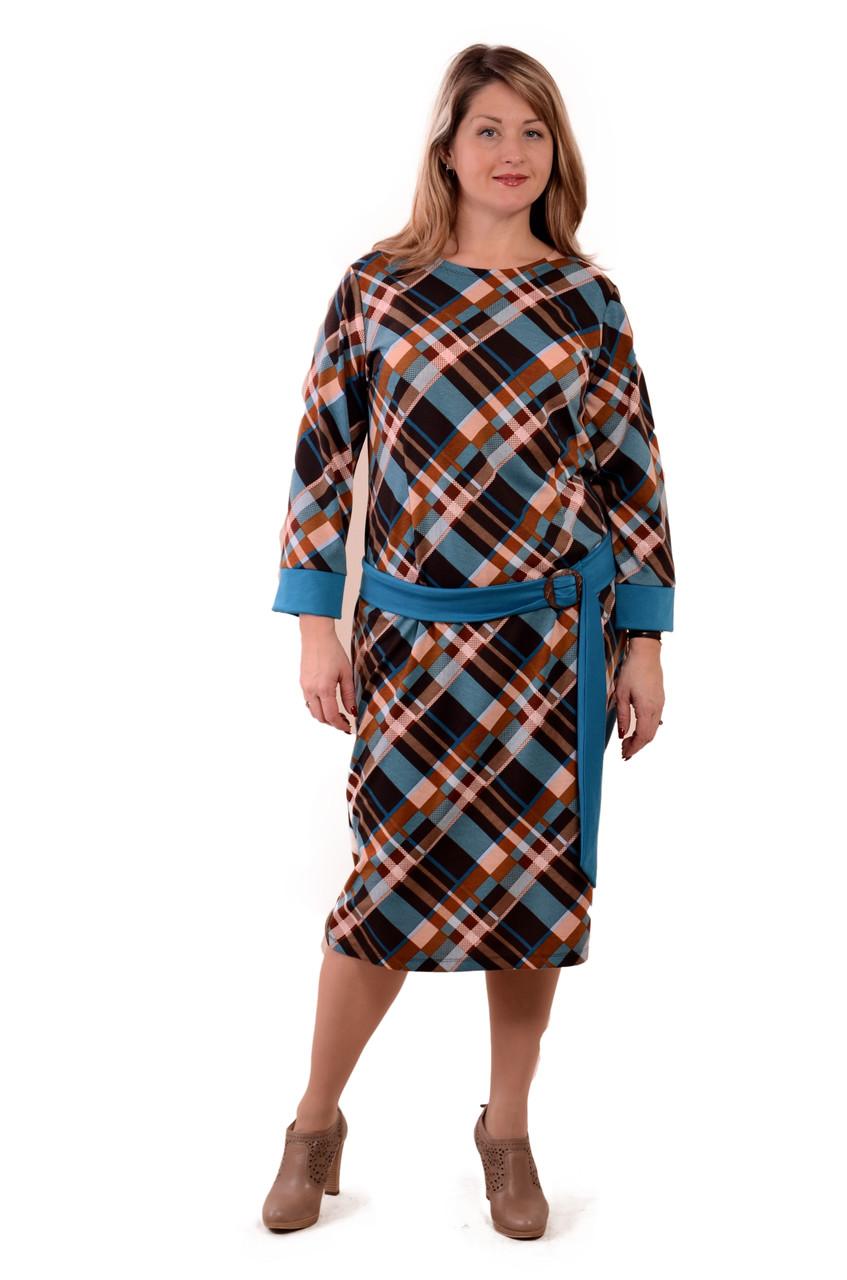 9f7b9af48f5 Платье женское теплое трикотажное пл 066 - ТМ Nadtochy