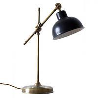 Настольный светильник loft Steampunk [ Table Lamp Vintage style ]  Antique Black