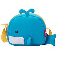 """Детская сумка Nohoo """"Рыба-Кит"""""""