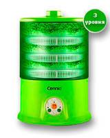 Спроутер Connie 3 уровня для проращивания зерен и семян, проращивание травы для животных