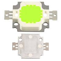 Светодиодная матрица зеленая 10Вт 450-540лм 9-10В