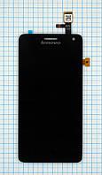 Модуль (дисплей + сенсор) Lenovo S660/S668T black titan original