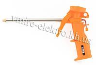 Пистолет для пены Grad 170 мм пластиковый корпус