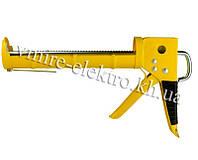 Пистолет для силикона, герметика полузакрытый Sigma 225 мм
