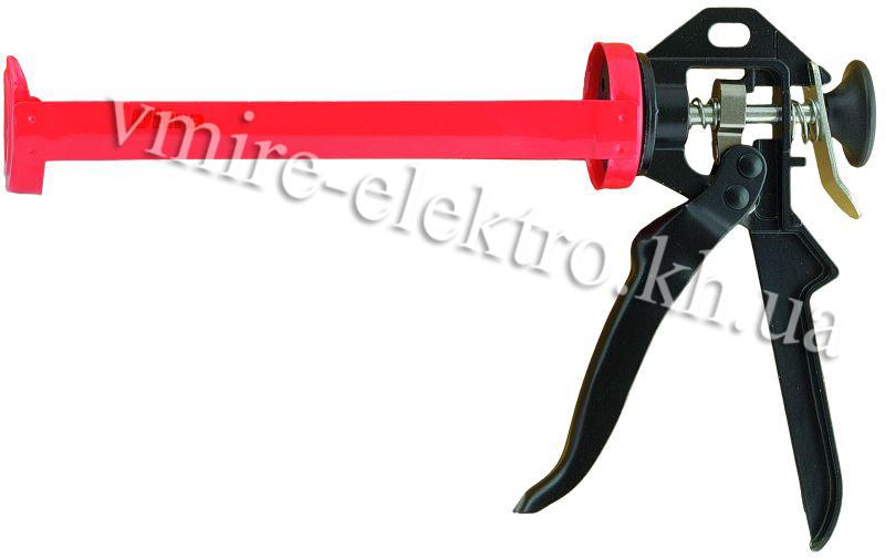 Пістолет для силікону, герметика напіввідкритий Ultra 225 мм