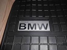 Килимки резинові на BMW 7 E65,66,67 логотип !!!