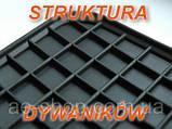Гумові килимки AUDI A4 S4 2000 - сірі з лого, фото 6