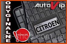 Резиновые коврики CITROEN C1 2015-  с логотипом