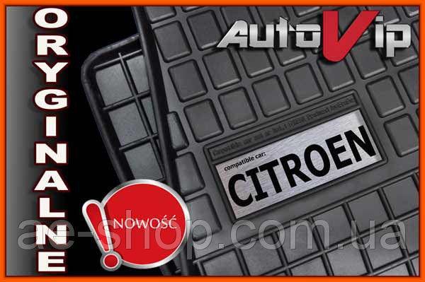 Резиновые коврики CITROEN C3 2010-  с логотипом