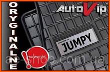 Резиновые коврики CITROEN JUMPY 5S 07 с лого