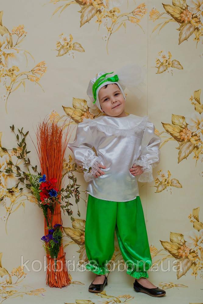 Карнавальный костюм подснежника  мальчик прокат