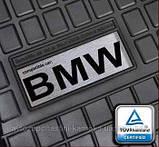 Резиновые коврики лого Mercedes W202 W203 W204 др., фото 9