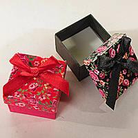 Подарочная коробочка для украшений маленькая 24 шт. Цветочек [5/5/4 см]