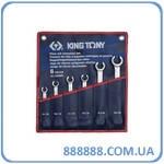 Набор ключей разрезные 6шт. 8-22 мм 1306MR King Tony
