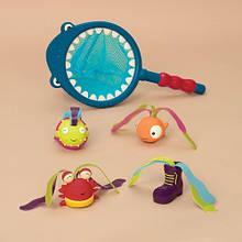 Игрушки для ванной «Battat» (BX1521Z) набор Накорми акулу