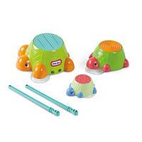 Игрушки для ванной «Little Tikes» (632266M) набор Черепашки-барабанчики