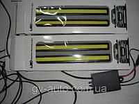 Дневные ходовые огни  - DRL - 17-4 белые с функцией стробоскопа